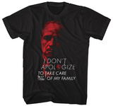 The Godfather- I Don't Apologize Tshirts