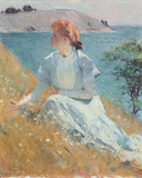 Margaret Gretchen Strong, c.1909 Giclee Print by Frank Weston Benson