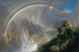 Rainy Season in the Tropics Giclee Print by Frederic Edwin Church
