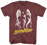Baywatch- 3 Hot Babes Shirts