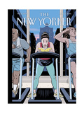 The New Yorker Cover - October 17, 2016 Regular Giclee Print by R. Kikuo Johnson