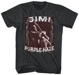 Jimi Hendrix- Purple Haze Stamp Tshirts