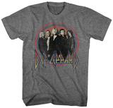Def Leppard- Band Button T-Shirt