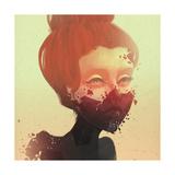 Masks Plakat af Felicia Ann