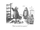"""""""That's not who I am anymore."""" - New Yorker Cartoon Regular Giclee Print by Jason Patterson"""
