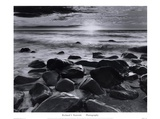 Winter Sunrise Montauk Coast Prints by Richard Nowicki