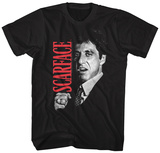 Scarface- Tony Close-Up T-shirts