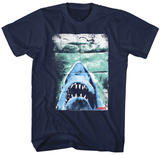 Jaws- Folded Poster T-Shirts