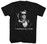 Terminator- Grey Scale T800 T-shirts