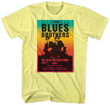 The Blues Brothers- Jake & Elwood Band Poster T-shirts