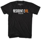 Resident Evil- Re7 Biohazard Logo Tshirts