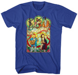 Bill & Ted: Excellent Adventure- Stained Glass T-Shirt