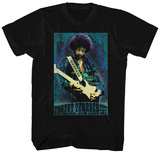 Jimi Hendrix- Sunset Terrace Paisley T-Shirt