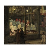 Shop Window, 1894 Giclee Print by Isaac Israels