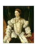 Lady in White, 1540 Giclee Print by Moretto Da Brescia