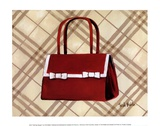 Petit Sac Rouge II Print by Trish Biddle