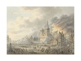 Capture of a City by French Troops, 1801 Giclee Print by Dirk Langendijk