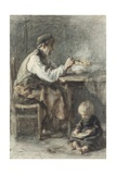 The Shoemaker, C. 1850-1905 Giclee Print by Jozef Israels