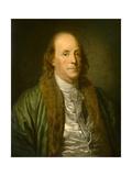 Benjamin Franklin Giclee Print by Jean Baptiste Greuze