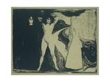 Women (Sphinx), C. 1893-99 Giclee Print by Edvard Munch