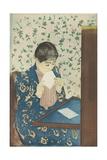 The Letter, 1990-91 Giclee Print by Mary Cassatt