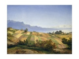 Swiss Landscape, 1830 Giclee Print by Alexandre Calame