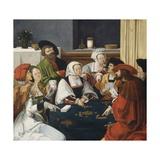 The Card Players, Lucas Van Leyden, C. 1550-99 Giclee Print by Lucas van Leyden