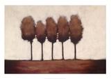 Five Trees Posters by Rita Vindedzis