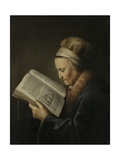 Old Woman Reading, 1631-32 Giclee Print by Gerard Dou