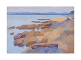 Coast Near Antibes, 1891-92 Giclee Print by Henri Edmond Cross