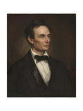 Abraham Lincoln, 1860 Reproduction procédé giclée par George Peter Alexander Healy