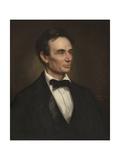 Abraham Lincoln, 1860 Impression giclée par George Peter Alexander Healy