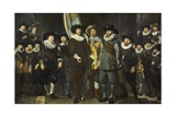 Company of Captain Allaert Cloeck and of Lieutenant Lucas Rotgans, Amsterdam, 1632 Giclee Print by Thomas de Keyser
