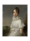 Portrait of Emma Jane Hodges, C. 1810 Giclee Print by Charles Howard Hodges