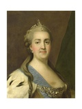 Catherine II, the Great, Empress of Russia, 1757-72 Giclee Print by Vigilius Erichsen