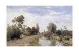 Landscape at Kortenhoef, 1877 Giclee Print by Paul Joseph Constantin Gabriel