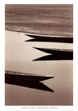 Fishing Boats, Desert of Mauritania Arte por Alexis De Vilar