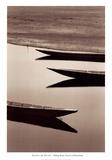 Fishing Boats, Desert of Mauritania Art by Alexis De Vilar