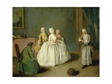 The Game of the Cooking Pot, 1744 Giclee Print by Pietro Longhi