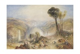 Oberwesel, 1840 Giclee Print by Joseph Mallord William Turner