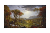 Autumn-On the Hudson River, 1860 Giclee Print by Jasper Francis Cropsey