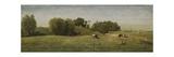Landscape Near Abcoude, by Paul Joseph Constantin Gabriel, 1860-70 Giclee Print by Paul Joseph Constantin Gabriel
