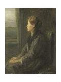 Woman at a Window, C. 1880-1911 Giclee Print by Jozef Israels