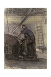 Blade Sharpener, 1880-1910 Giclee Print by Isaac Israels