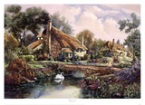 Village Of Dorset Prints by Carl Valente