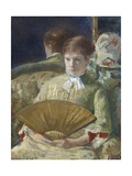 Miss Mary Ellison, 1880 Giclee Print by Mary Cassatt