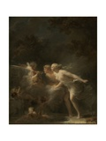 The Fountain of Love, 1785 Impression giclée par Jean-Honore Fragonard