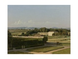View of the Gardens of Villa Medici, 1811-16 Giclee Print by Michel-martin Drolling