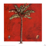 Maya Palm Print by Mark Pulliam
