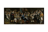 Banquet at the Crossbowmen's Guild in Celebration of the Treaty of Munster, C. 1648 Giclee Print by Bartholomeus Van Der Helst